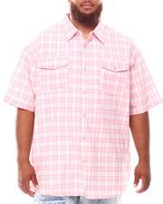 Button-downs - Plaid Woven Shirt (B&T)-2631876