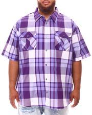 Button-downs - Plaid Woven Shirt (B&T)-2631887