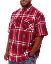 Button-downs - Yarn Dyed Plaid Woven Shirt (B&T)-2631911