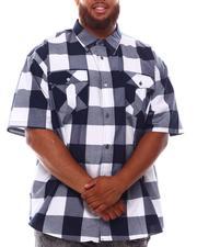 Button-downs - Yarn Dyed Plaid Woven Shirt (B&T)-2632054