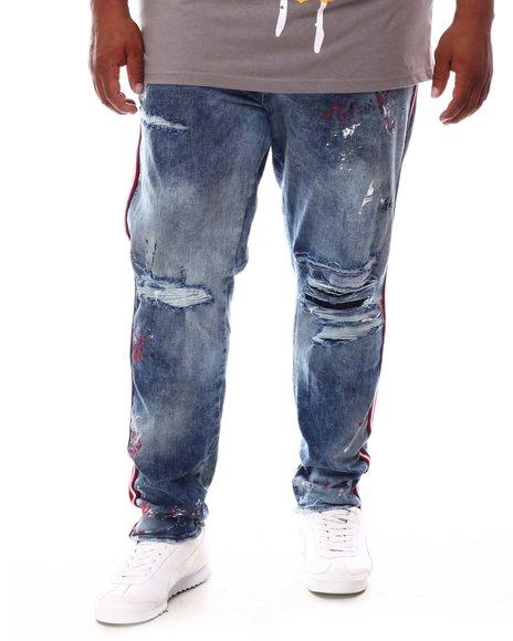 Jordan Craig - Distressed Tapered Denim Jeans (B&T)