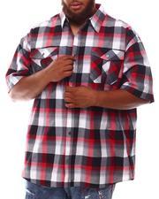 Button-downs - Plaid Woven Shirt (B&T)-2632107