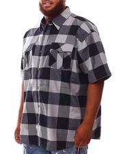 Button-downs - Plaid Woven Shirt (B&T)-2632124