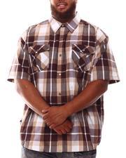 Button-downs - Plaid Woven Shirt (B&T)-2632183