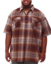 Button-downs - Plaid Woven Shirt (B&T)-2632395