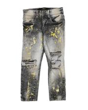 Sizes 4-7x - Kids - Destructed Washed Jeans (2-7)-2632001