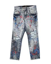 Sizes 4-7x - Kids - Destructed Washed Jeans (2-7)-2632016