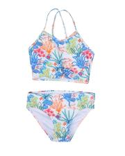 Girls - Two-Piece Twisted Front Tankini Swimsuit Set (7-16)-2630631