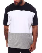 Buyers Picks - Three Stripe Color Block Crew T-Shirt (B&T)-2626526