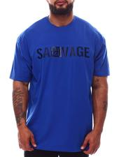 Buyers Picks - Savage Rubber Print Crew Neck T-Shirt (B&T)-2632687