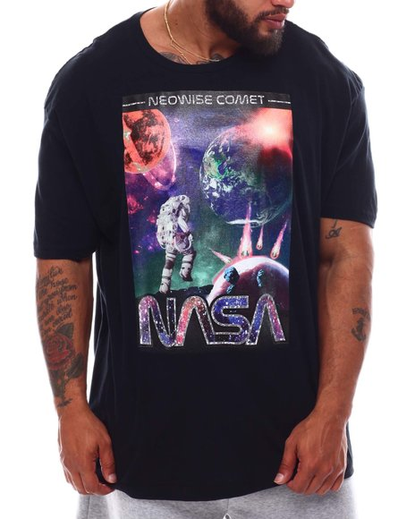 Akademiks - NASA Neowise Comet T-Shirt (B&T)