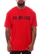 Buyers Picks - Savage Rubber Print Crew Neck T-Shirt (B&T)-2632654
