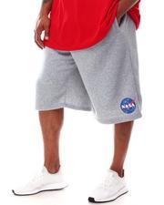 Akademiks - NASA Fleece Shorts (B&T)-2632162