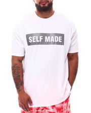Buyers Picks - Self Made Rubber Print Crew Neck T-Shirt (B&T)-2632675