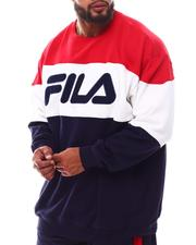 Fila - Colorblock Fleece Crew Fleece Sweatshirt (B&T)-2629545