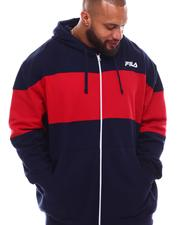 Fila - Full Zip Fleece Hoodie Jacket (B&T)-2629561