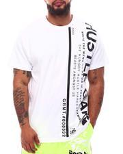 Hustle Gang - Minimalism Knit T-Shirt (B&T)-2631339