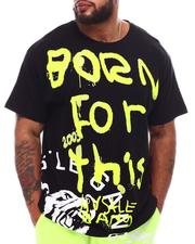 Shirts - Born For This Knit T-Shirt (B&T)-2631342