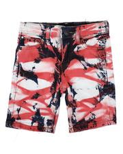 Sizes 2T-4T - Toddler - Tie Dye Wash Denim Shorts (2-7)-2631904