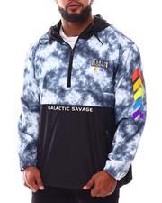 Outerwear - Savage Tie Dye Windbreaker Jacket (B&T)-2632505
