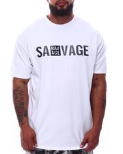 Buyers Picks - Savage Rubber Print Crew Neck T-Shirt (B&T)-2632658