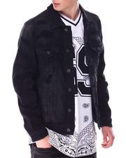 Outerwear - Distressed Denim Jacket-2633910