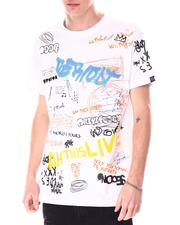 Buyers Picks - Graffiti All over Verbiage Tee-2633653