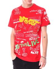 Buyers Picks - Graffiti All over Verbiage Tee-2633659