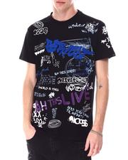 Buyers Picks - Graffiti All over Verbiage Tee-2633667