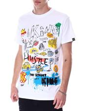 Buyers Picks - Hustle embroidery Tee-2633679