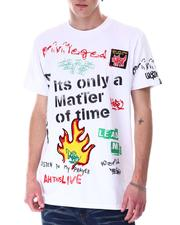 Buyers Picks - Matter of Time Embroidery Tee-2633697