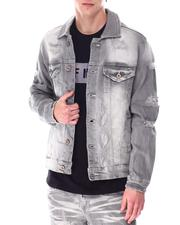 Outerwear - Distressed Denim Jacket-2633892