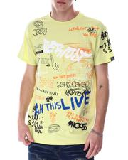 Buyers Picks - Graffiti All over Verbiage Tee-2633703