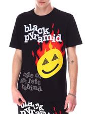 Black Pyramid - SMILE OR GET LEFT BEHIND Shirt-2630257