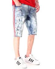 Shorts - Side Stripe Jean Short-2632841