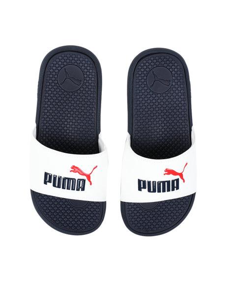 Puma - Cool Cat Jr. Slides (4-7)