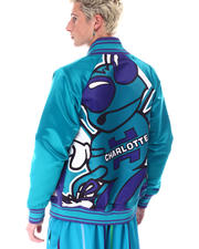 Mitchell & Ness - CHARLOTTE HORNETS Colossal Jacket-2632920