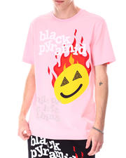 Black Pyramid - SMILE OR GET LEFT BEHIND Shirt-2633094