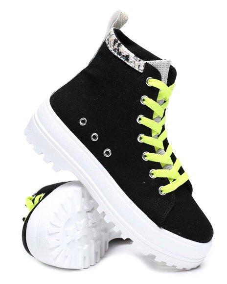Fashion Lab - Platform Hi Top Sneakers