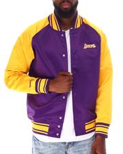 Mitchell & Ness - LOS ANGELES LAKERS Colossal Jacket-2632910