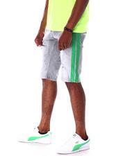 Men - Ripped Jean Short w Stripe Detail-2634725