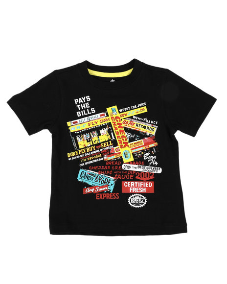 Born Fly - Fly Business Graphic Tee (2T-4T)