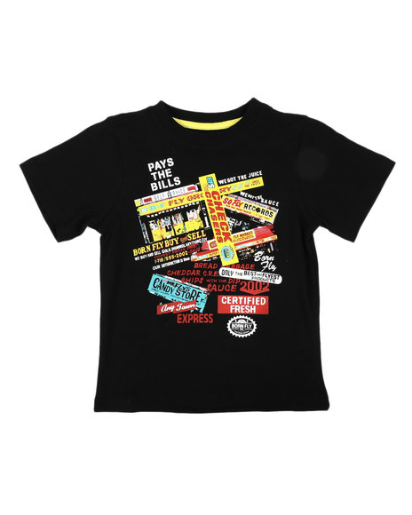 Born Fly - Fly Business Graphic Tee (4-7)