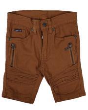 Phat Farm - Stretch Brushed Twill Moto Shorts (4-7)-2632347
