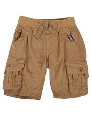 Sizes 2T-4T - Toddler - Washed Poplin Cargo Shorts (2T-4T)-2632440