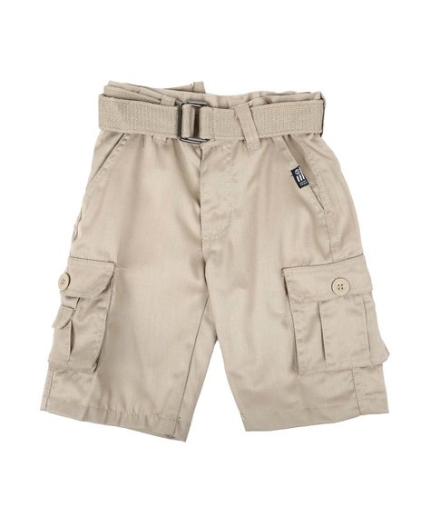 Phat Farm - Belted Twill Cargo Shorts (4-7)