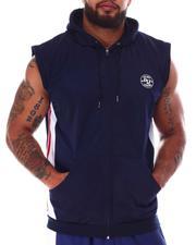 Hoodies - Tricot Zip Sleeveless Hooded Top (B&T)-2634330