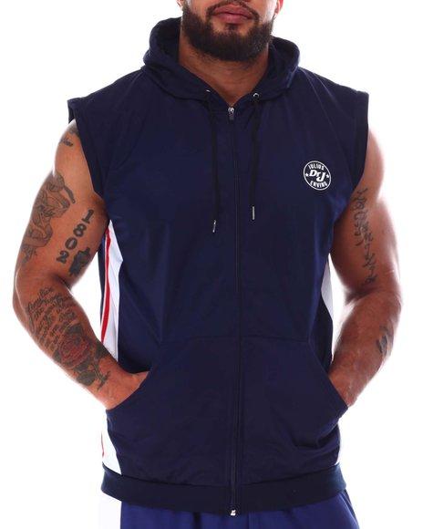 Buyers Picks - Tricot Zip Sleeveless Hooded Top (B&T)