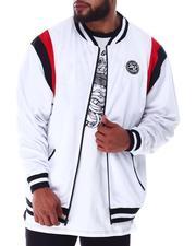Outerwear - Tricot Zip Front Retro Jacket Signature Logo (B&T)-2634322