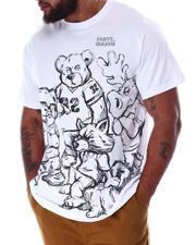 Hustle Gang - Harmony Bear Knit T-Shirt (B&T)-2633475